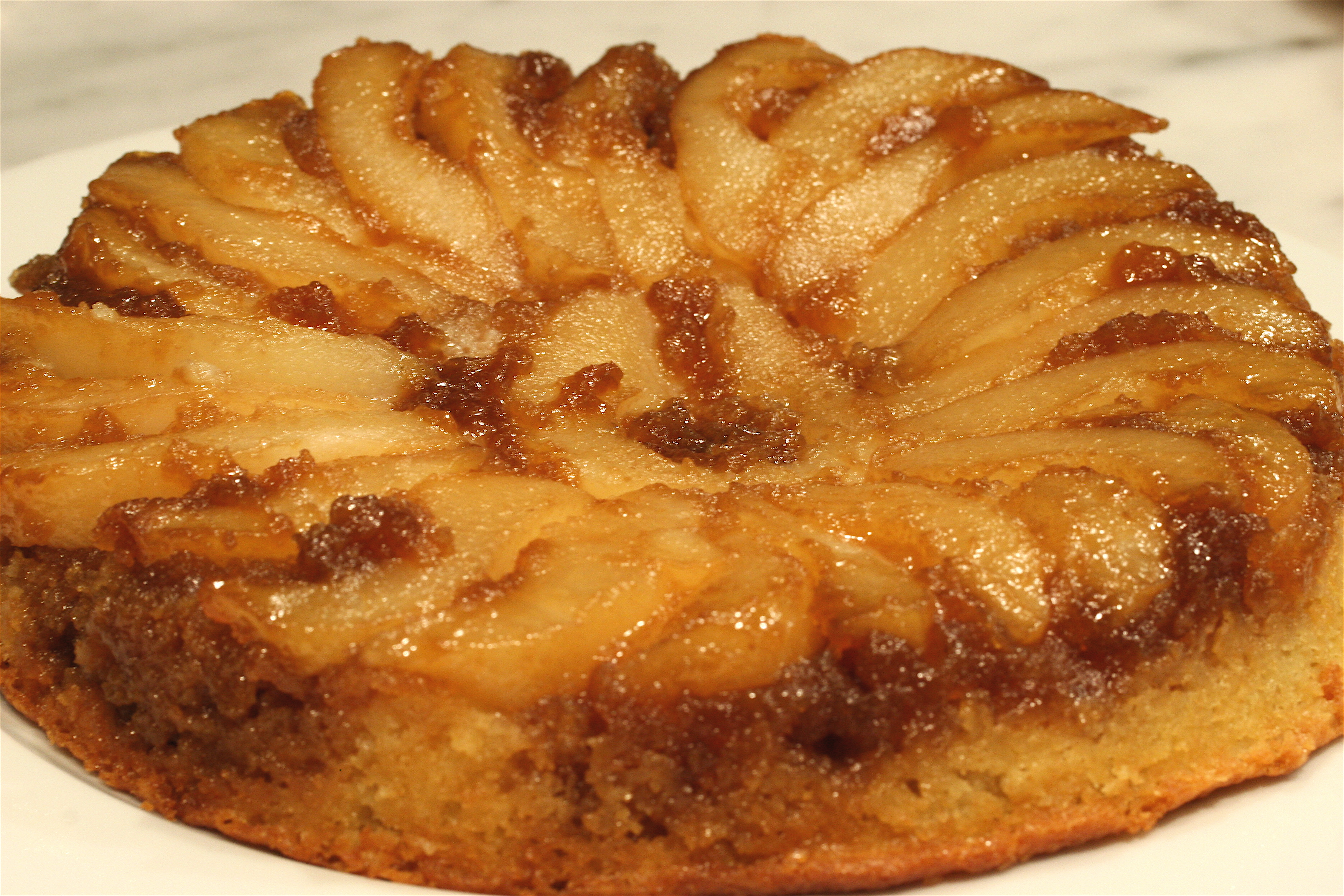 Upside Down Apple Cranberry Cake